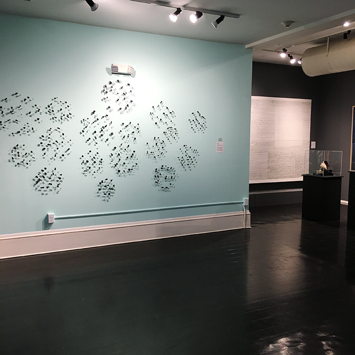 Fish Scale installation by Marian Bijlenga