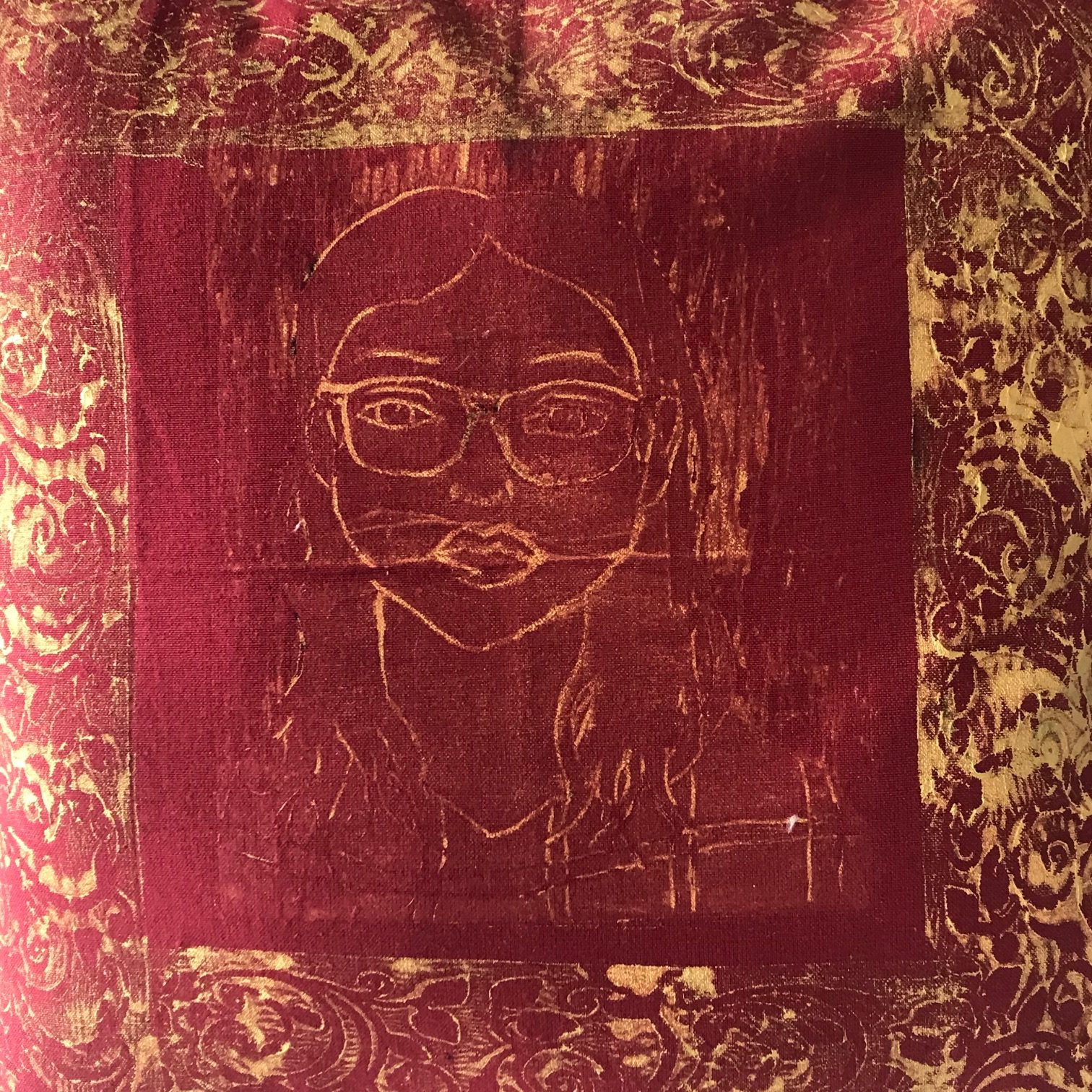 Portrait in Gold