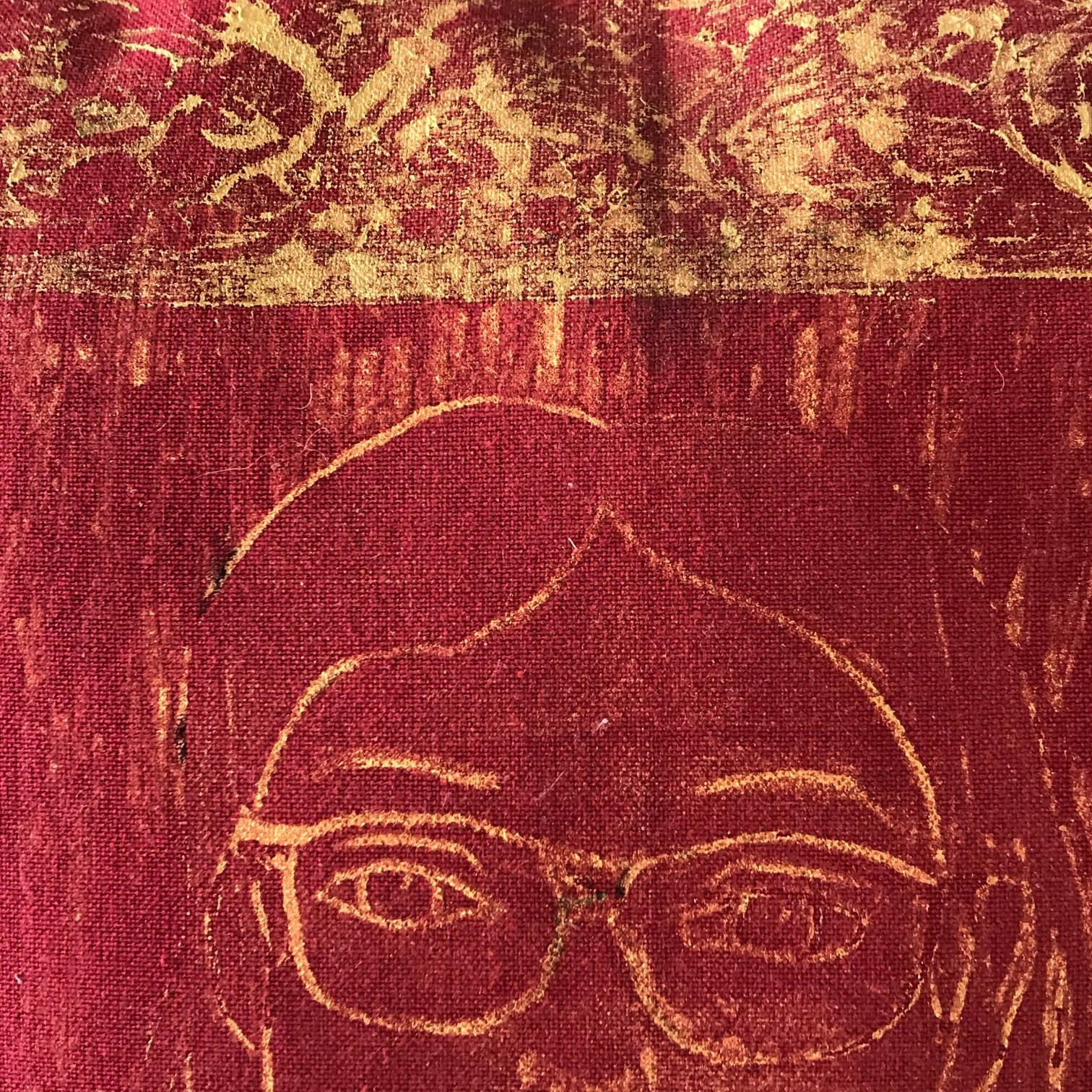 Portrait in Gold (detail)