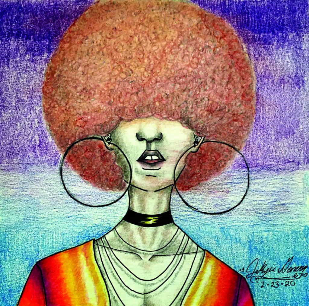 Portrait 2 (orange hair)