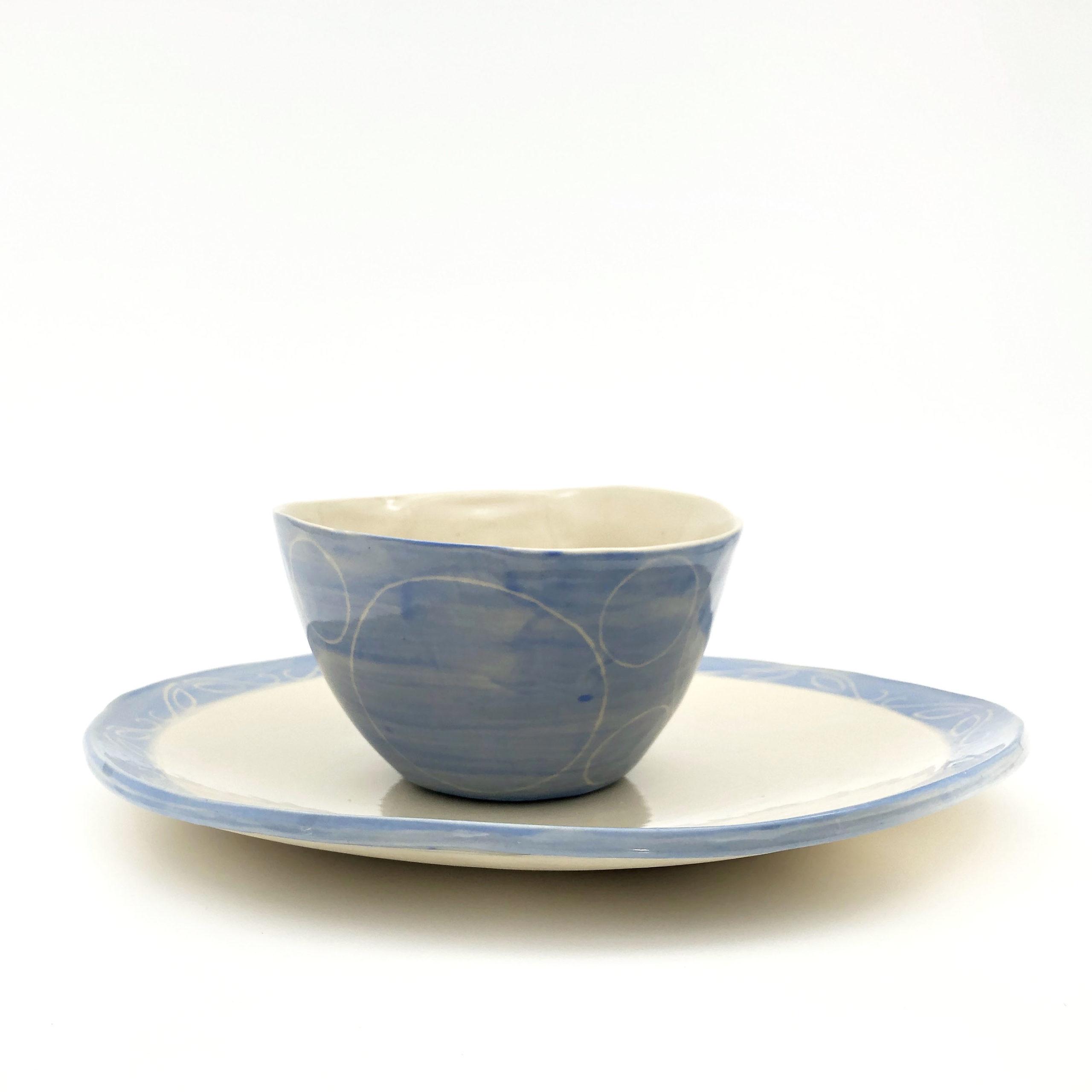 Sabah bowl and plate