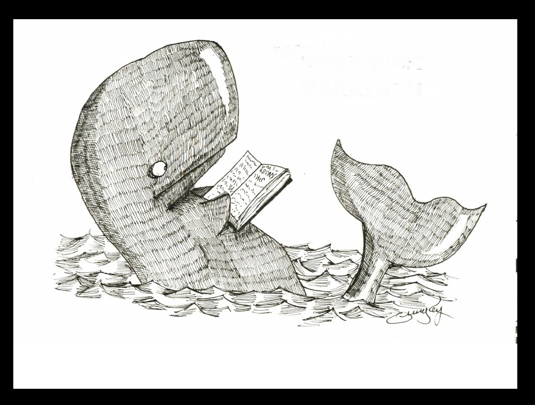 Reading Moby Dick