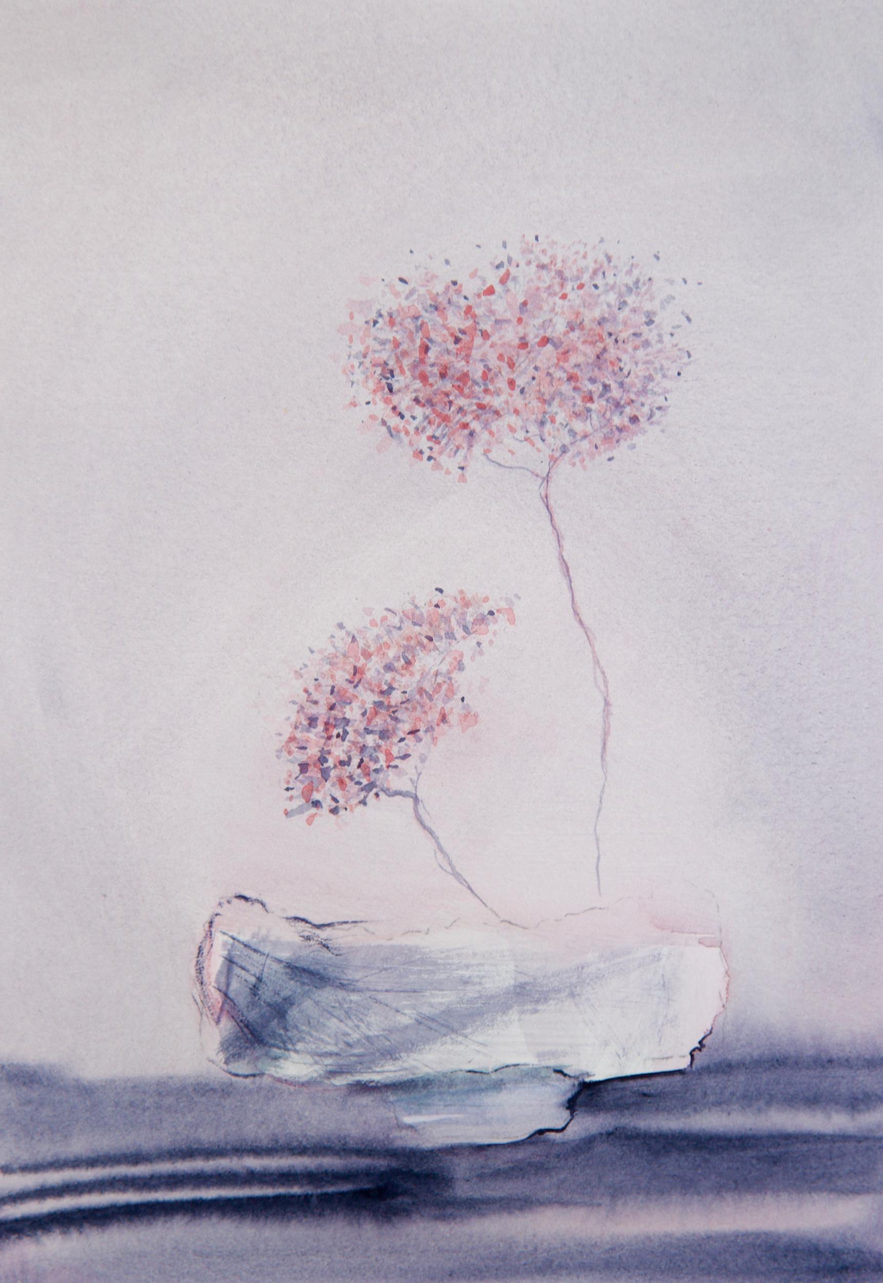 Pink Ikebana