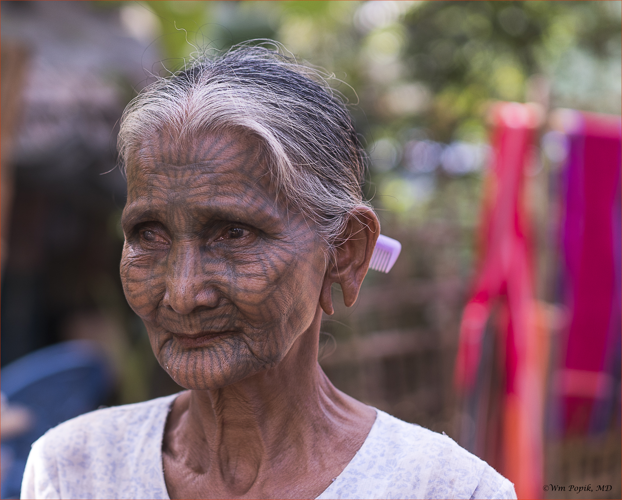 A dying tradition, Chin Village, Myanmar