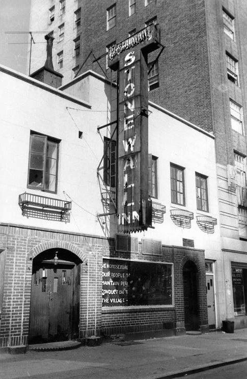 Stonewall Inn's facade