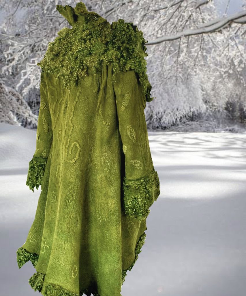 The Moss Coat | Carolyn Kohler | Malua Bay, New South Wales, Australia | 2020