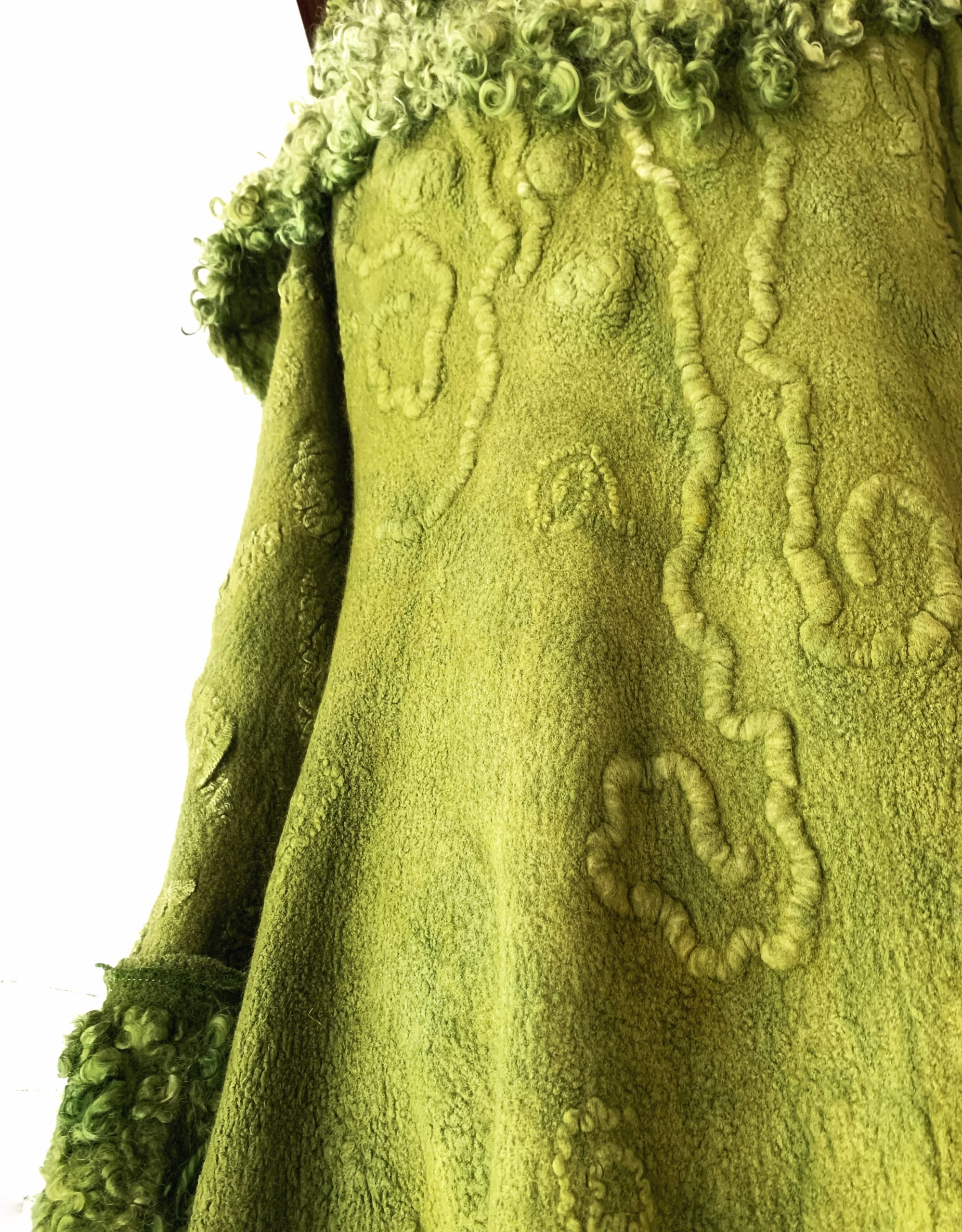 The Moss Coat | Detail